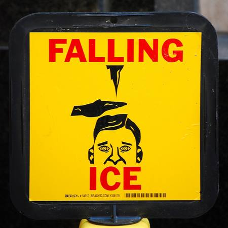 Dangers Of Falling Ice Nationalsafety S Weblog