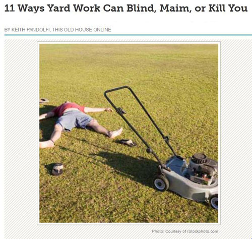 Yard-Work