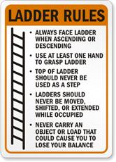June 2013 national safety month tips week 1 slips trips for Ladder safety tips