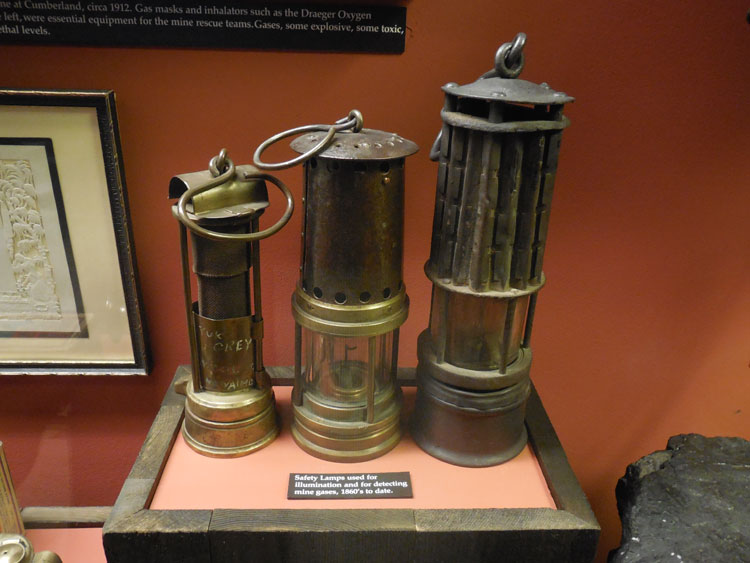 Safety-Lamp