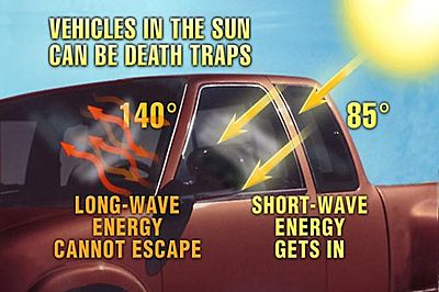 How Hot Can A Car Get On  Degree Day
