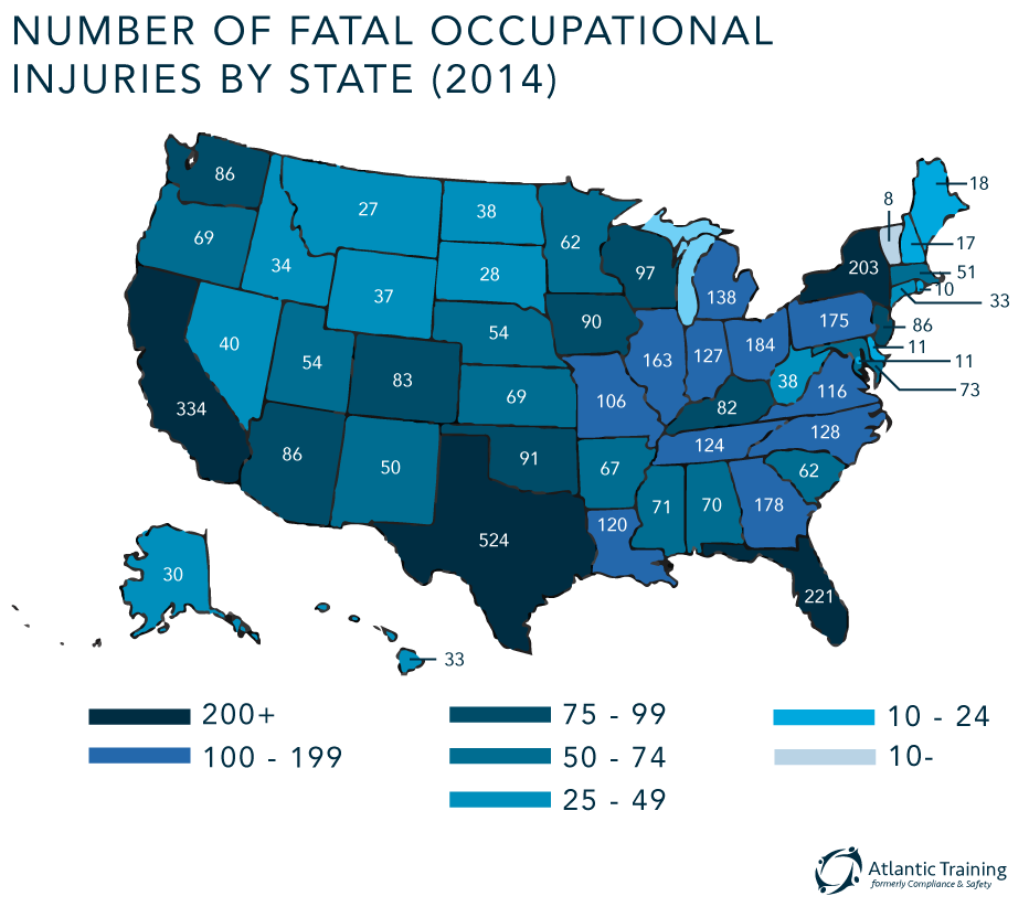 Number-Fatal-Occupational-Injuries-by-State-2014